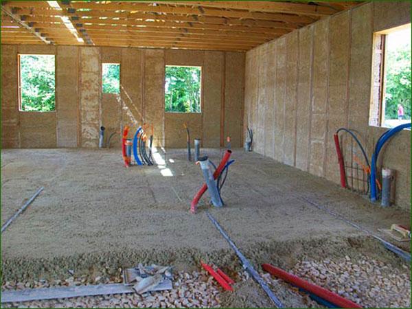 Le b ton de chanvre - Faire une dalle beton ...