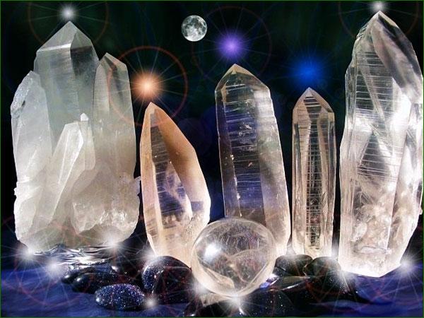 energie du cristal